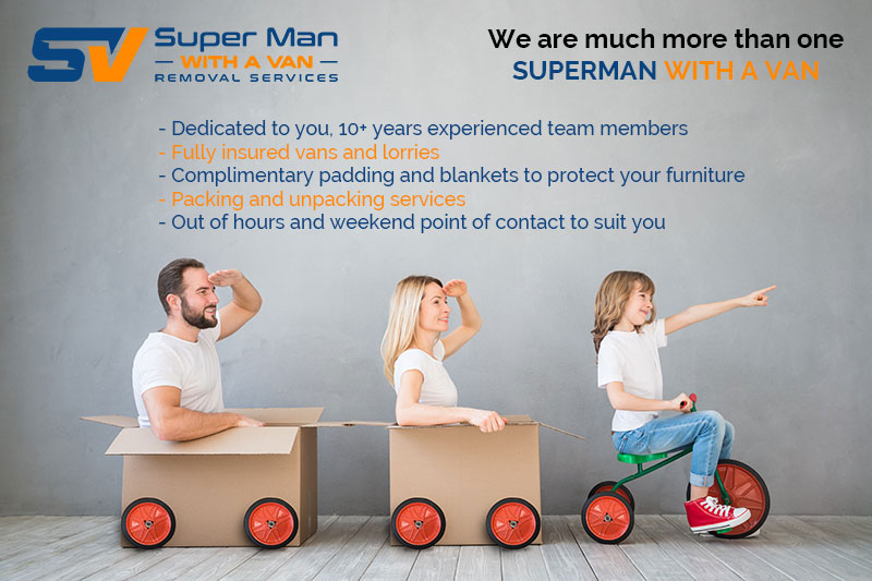 Super Man Van provides cost efficient service