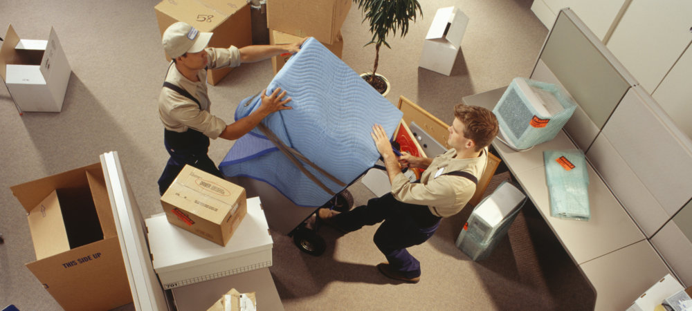 Commercial office moving
